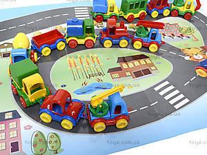 Машинка Kid cars с картой, 39243, toys.com.ua