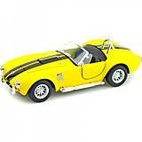 Машинка KINSMART Shelby Cobra 427 (желтая), KT5322W, купить