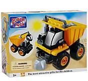 Машинка конструктор «Грузовик Super Truck», 660, отзывы
