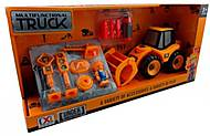 Машинка-конструктор «Комбайн», CXL200-17D