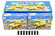 Машинка - конструктор серии «CITY», SM803, фото