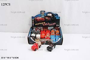 Машинка легковая «Тачки» игрушечная, TY626