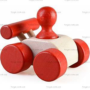 Машинка «Малыш», красная, Ду-08ч