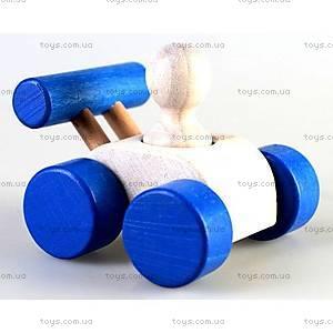 Машинка «Малыш», синяя, Ду-08с