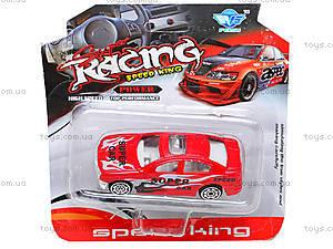 Машинка металлическая Racing, JP415, купить