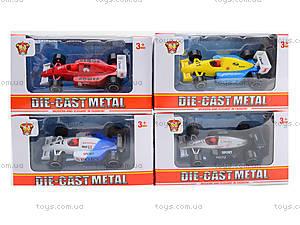 Детская гоночная машина Die-Cast Metal, JH168FG5, фото