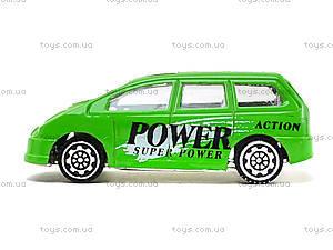 Машинка металлическая Superpower, JP418, игрушки