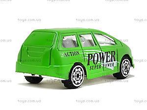 Машинка металлическая Superpower, JP418, магазин игрушек