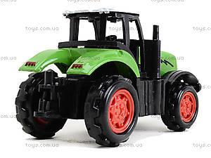Металлическая модель трактора «Фермер», XY045, фото