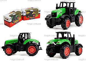 Металлическая модель трактора «Фермер», XY045