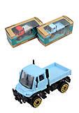 Машинка металло-пластик, 3 вида, 99004, фото