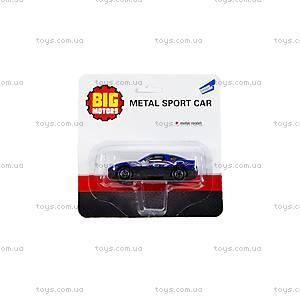Машинка металлическая, спортивная, 27669-632, отзывы