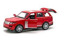 Машинка металлическая «Land Rover Range Rover» красная, MY66-060