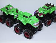 Машинка Monster Wheels зеленого цвета, KLX500-236