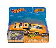 Машинка музыкальная «Hot Wheels» желтого цвета, Q599-1, тойс ком юа