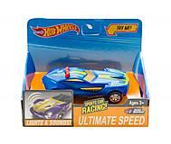 Машинка музыкальная «Hot Wheels» синего цвета, Q599-1, интернет магазин22 игрушки Украина