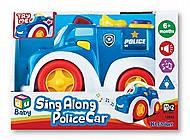 Машинка музыкальная «Полиция», K12842