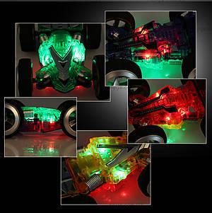 Двусторонняя машинка-микро на радиоуправлении WL Toys 2308 Double-faced, WL-2308b, игрушки