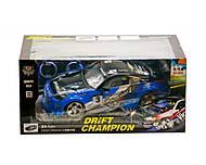 Машинка на радиоуправлении «Drift Champion» синяя, 333-P011B, купить