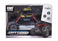 """Машинка на радиоуправлении """"Drift Climber"""" на роликовых колеса (черная), 2455"""