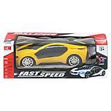 """Машинка на радиоуправлении """"Fast Speed"""" (желтый), 236-2, фото"""