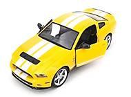 Машинка на радиоуправлении Ford GT500 Mustang желтая, MZ-2270Jy, отзывы