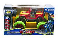 """Машинка на радиоуправлении """"Jeep: Rock Crawl"""" (красная), JT333, купить"""