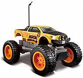 Машинка на радиоуправлении Rock Crawler Jr. желто-черная, 81162-2, фото