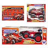 Машинка перевертыш-гоночная (красная), М-00044, фото
