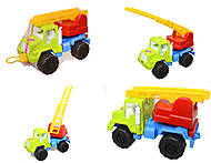 Детская игровая машинка «Пожарная», 05-510MG-074, фото