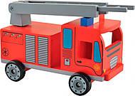 Машинка деревянная «Пожарка», Д302, купить