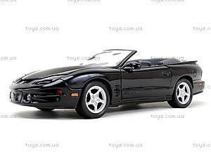 Машинка Pontiac Firebid 2001, 22420W, магазин игрушек