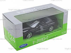 Машинка Pontiac Firebid 2001, 22420W, toys.com.ua