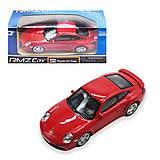 """Машинка """"Porsche 911"""" красный, 444010, фото"""