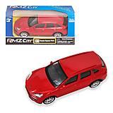 "Машинка ""Porsche Cayenne Turbo"" красный, 444012"