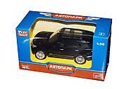 Машинка Range Rover из серии «Автопарк» (черная), 6524WC