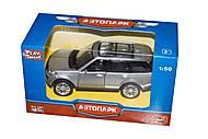 Машинка Range Rover из серии «Автопарк» (серебристая), 6524WC, отзывы