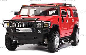 Лицензионная машинка р/у Meizhi Hummer H2, MZ-2026r