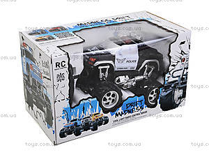 Радиоуправляемая машинка «Полицейский джип», С555-6-7, цена
