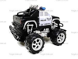 Радиоуправляемая машинка «Полицейский джип», С555-6-7, игрушки