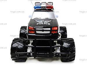 Радиоуправляемая машинка «Полицейский джип», С555-6-7, детские игрушки