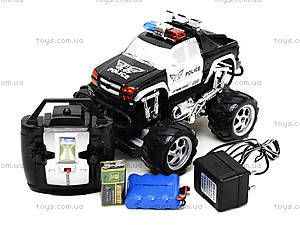 Радиоуправляемая машинка «Полицейский джип», С555-6-7, магазин игрушек