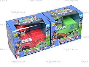 Игрушечная машинка с героем «Щенячий патруль», 8888