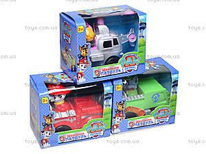 Игрушечная машинка с героем «Щенячий патруль», 8888, toys