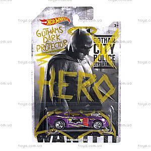 Машинка Hot Wheels серии «Бэтмен против Супермена», DJL47