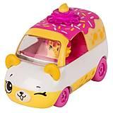 Машинка SHOPKINS CUTIE CARS S1 СМАРТИК-ТОРТИК, 56585, купить