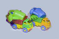 Машинка Смайлик с лейкой, Л-014-4