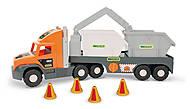 Машинка со строительными контейнерами, 36760, фото