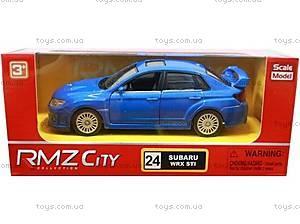 Коллекционная машинка Subaru WRX, 444006, купить