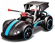 Машинка-трансформер на радиоуправлении Street Troopers Project 66 черно-синий, 81107-2